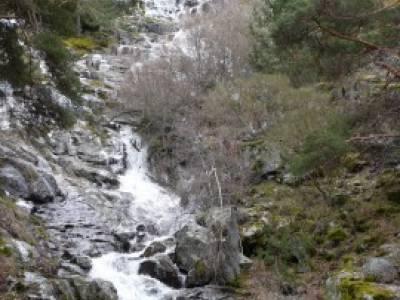 Cascada de Mojonavalle - Sierra de la Morcuera;rutas senderismo almeria